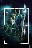 Loki Odinson by iisjah