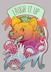 Laugh it up hyena! by iisjah