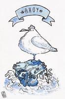 Ahoy seagull! by iisjah