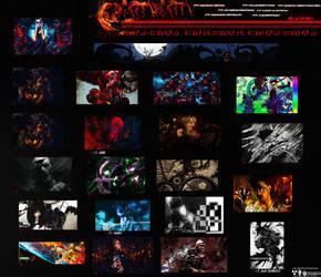 TagWall October-November  2012 by Gliscor974