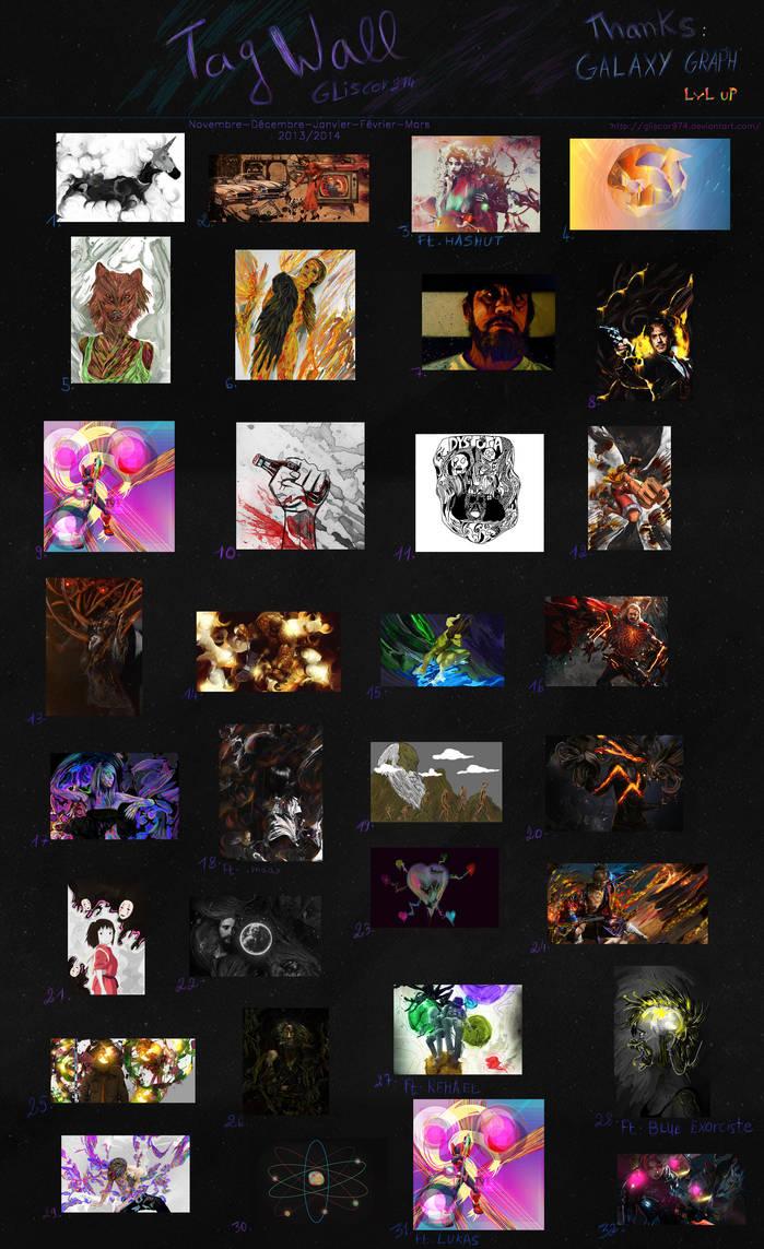 TagWall 2013-2014 by Gliscor974