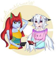 Sally Cat and Mellony - It Was Super Effective by ConfirmedGhost