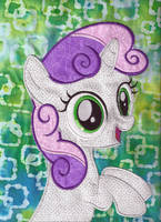 Sweetie Belle Quilt Square by eebharas