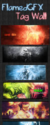 FlamedGFX Tag wall by FlamedGFX