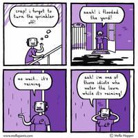 Sprinkler by mellapants