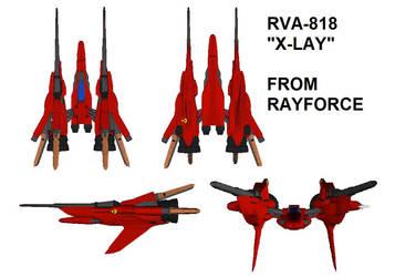 RVA-818 X-LAY BLUEPRINT by ProjetoElectrosphere