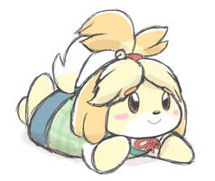 Isabelle (Request) by randomouscrap
