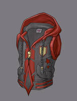 HOODIE OF PROTECTION by alpha-denim-recruit
