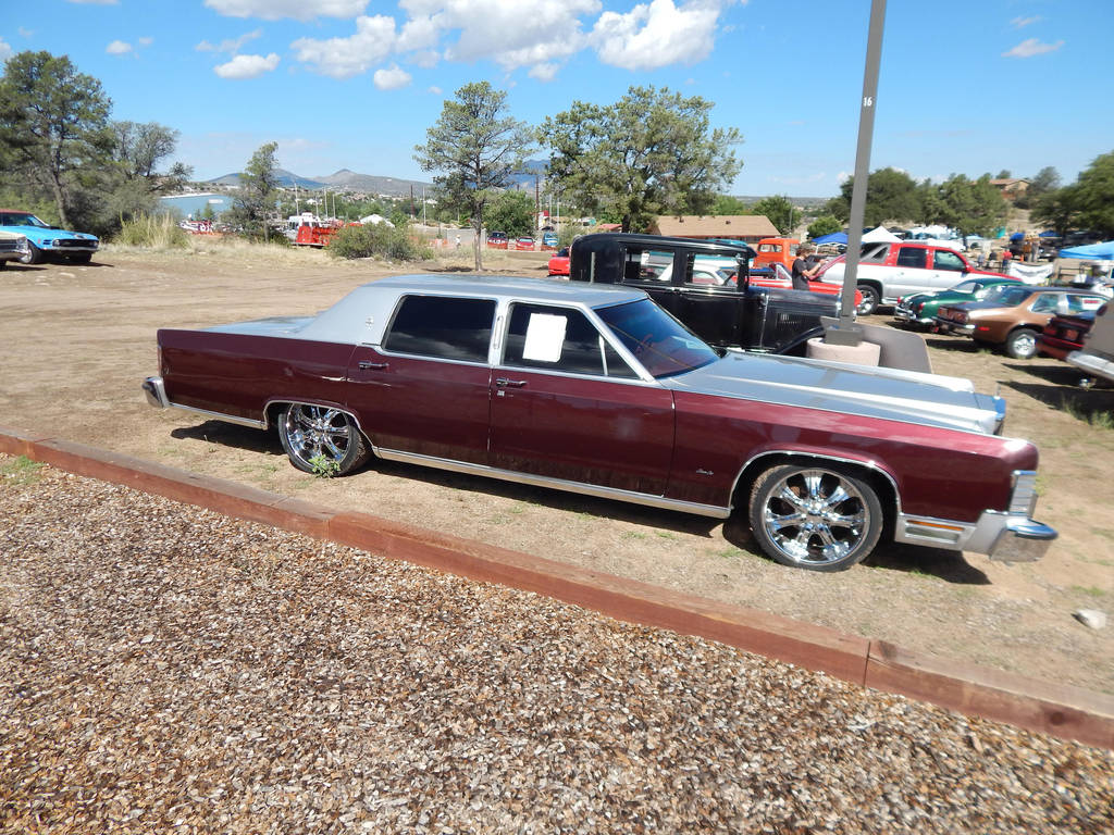 1979 Lincoln Continental Town Car Customized By Liebelivedeville