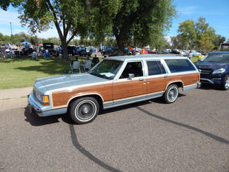 1990 Ford LTD Country Squire by CadillacBrony