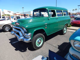 1955 GMC NAPCO Suburban by LiebeLiveDeVille