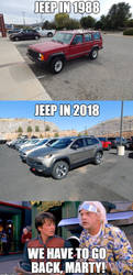 Why, Jeep? Just why? by LiebeLiveDeVille