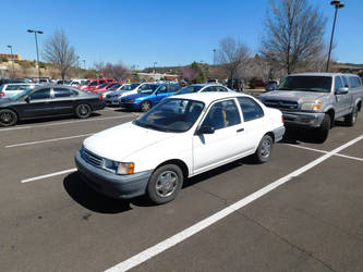 1992 Toyota Tercel Coupe by LiebeLiveDeVille
