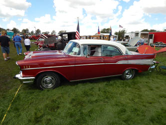 1957 Chevrolet Bel Air Hardtop Sedan [Modified] by LiebeLiveDeVille