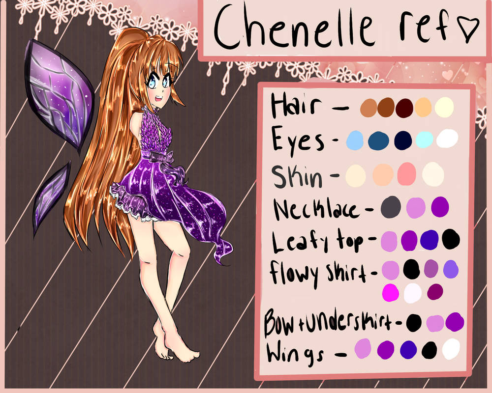 Chenelle Reference Sheet by xMayu-Chi