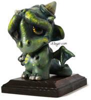 Dragon Munny by Jelayer