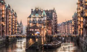 Hamburg Speicherstadt HDR by Meduana