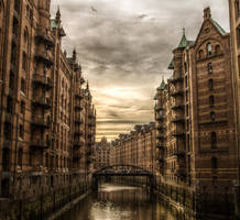 Speicherstadt Hamburg by Meduana