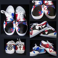 Commission: Fullmetal Alchemist shoes by Vardagaladhiel