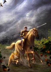 Knight Of Swords by elsbro