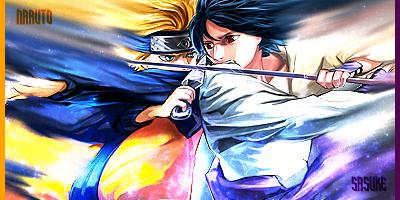Naruto VS Sasuke by Jeni-Angel