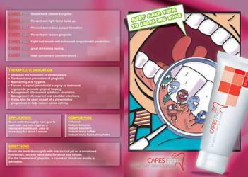 Cares Free Brochure by Ahmed-espaniA-Design