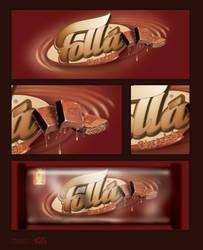 Chocolate Folla by Ahmed-espaniA-Design