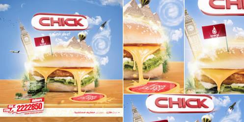 CHICK 002 Menu by Ahmed-espaniA-Design