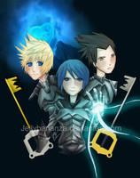 Kingdom Hearts -Birth by sleep by Opeiaa