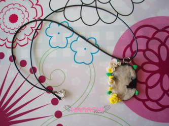 cameo necklace by Hanachi-bj