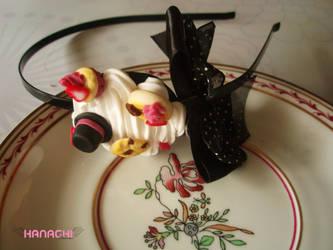 black ribon headban by Hanachi-bj