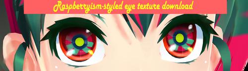 Raspberrysim-styled eye texture download by ReggieAndCheese