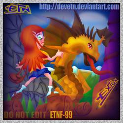 Nicole y el dragon... by DEVETN