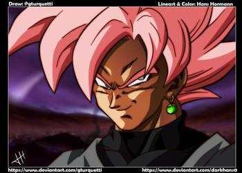 Goku Black SS Rose by DarkHans0
