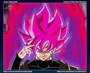 Goku Black SS Rose - Z Style by DarkHans0