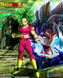 Kefla X Goku Ultra Instinct [COLLAB] by DarkHans0