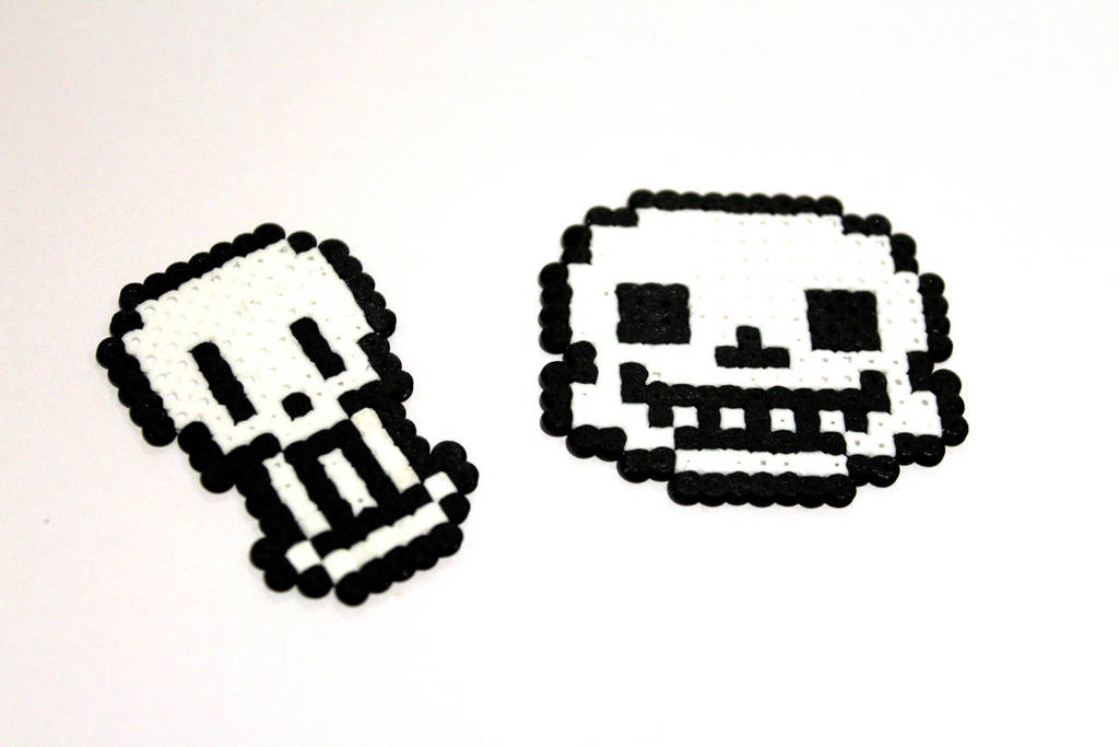 Undertale Papyrus Sans Overworld Head Sprite By Retr8bit On