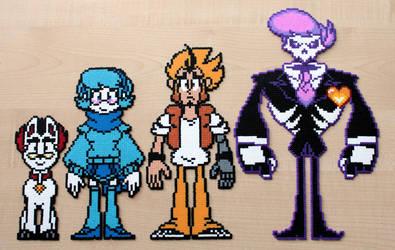 Mystery Skulls Ghost Gang - Bead Sprites by Retr8bit