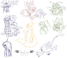 The Neverending Doodles - DigiDoodles by VibrantEchoes