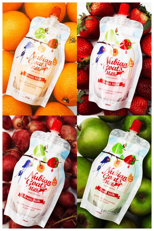 Frutti Milk Packaging by iamcadence