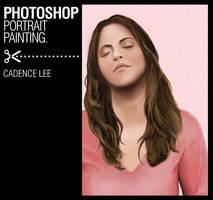 Photoshop brush painting by iamcadence
