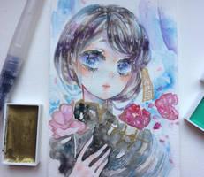 flower girl by Mii17noah