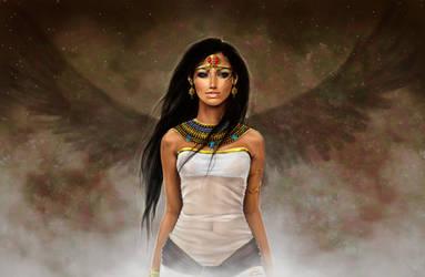 Daughter of Isis by Nilhisiewen