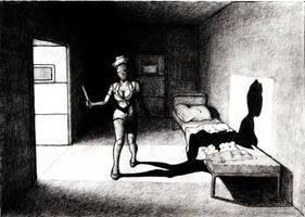 Silent Hill - Nurse Dark Color by Ephebopus365