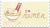 Ramen Love Stamp by Kezzi-Rose