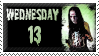 Wednesday 13 Stamp by Kezzi-Rose