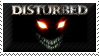Disturbed Stamp by Kezzi-Rose