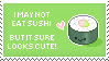 Sushi Stamp by Kezzi-Rose