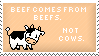 Beef Stamp by Kezzi-Rose