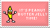 Peanut Butter Jelly Time Stamp by Kezzi-Rose